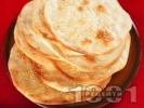 Рецепта Хляб Лаваш - плоски арменски питки с просо